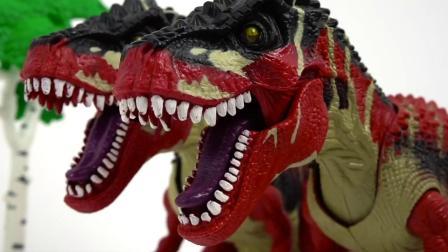 迷你特工队恐龙力量:弗特装备了面具腰带还有特工枪.mp4