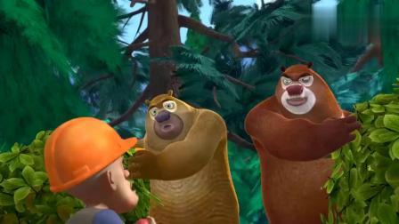 熊出没:光头强抢熊二蜂蜜,抱着罐子不放,强哥也爱吃蜂蜜?