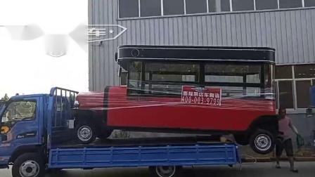 惠福莱店车厂家定制多功能流动冰淇淋车