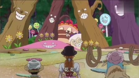 海贼王:布蕾用能力为海米们送出娜美的福利