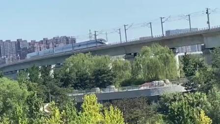 [HOH]CR400AF 通过北京园博园附近