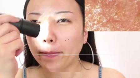 不洗脸的面部皮肤是怎样的?显微镜放大100倍,看完后背一凉!
