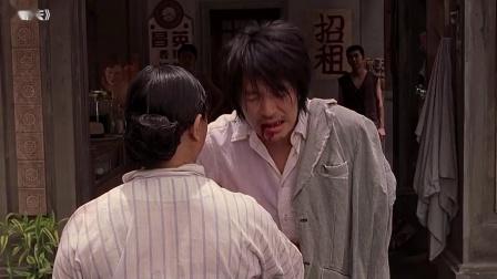 周星驰带乞丐去吃饭,上来就是鱼翅漱漱口,谁知乞丐说不出口