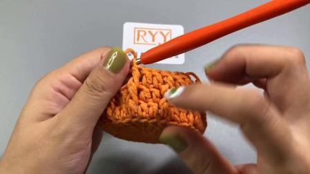 【RYY手作】 第47集 Mini蛋糕包-耳机袋 新手零基础钩针编织教程