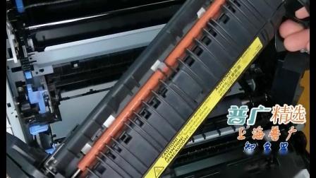 上海普广精选惠普551 3525 3535 3025 3530佳能7750打印机定影组件热凝器安装