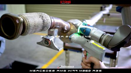 Stone Exhaust –AMG W177 M260 A35 Development