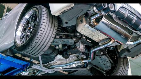 BMW F22 220i B48  Stone Exhaust Valvetronic Catback System.mp4