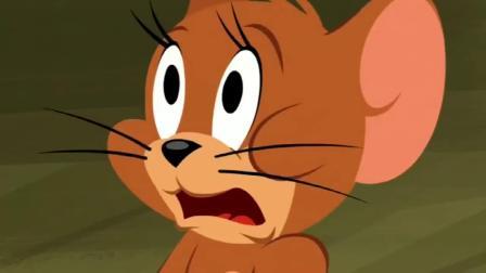 猫和老鼠杰瑞装吸血鬼 竟将汤姆吓得半死 杰瑞这演技堪比演帝.