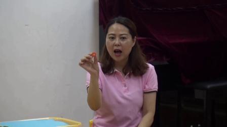 课堂实录幼儿园美术《有趣的蔬菜拓印》南江县红星幼儿园金静