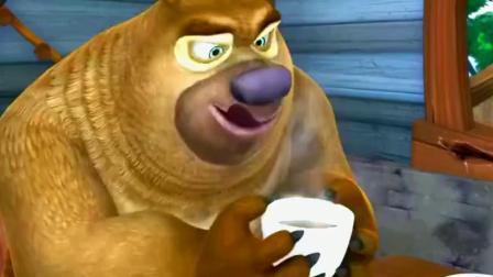 熊出没:光头强的咖啡豆长虫子了,还给熊二喝!