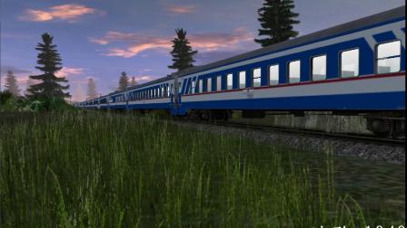 TRS2012:JWDF4D牵引JW25G通过(画质拉满)