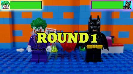 乐高积木机器人街机蝙蝠侠电影模仿3玩具动画游戏