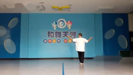 20200620_080455魏友福老师晨练 八卦掌