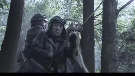 孤岛飞鹰:游击队救出燕双鹰,准备撤离出战斗.mp4