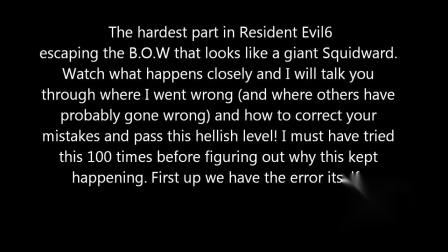 【游民星空】《生化危机6》Chris ch.5 escape the B.O.W