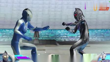 奥特曼格斗0:邪赛文融合神秘四奥雷杰多!这是要给他邪恶力量吗
