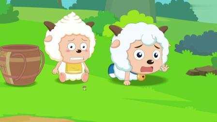 喜羊羊:灰太狼是牧牧的助手,帮助牧牧拿包,却像是背座山!