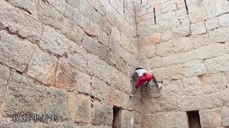 """见识下开挂的能力!印度爬墙神人""""猴王"""",飞檐走壁无需任何道具"""