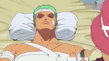 海贼王:索隆为路飞抗下了所有伤痛,简直太帅了