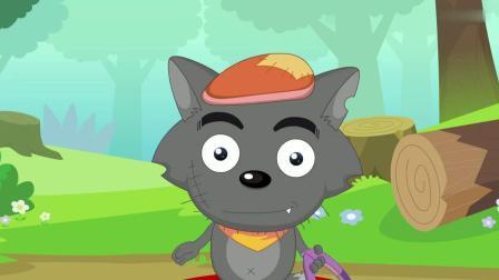 喜羊羊:灰太狼为了大侦探之位,陷害喜羊羊,真是太阴险了!