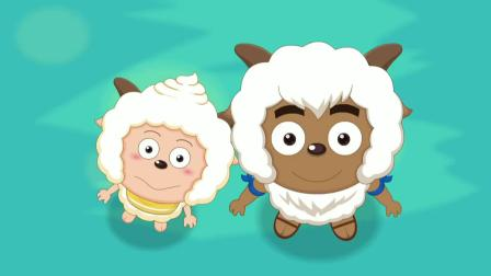 喜羊羊:喜羊羊真是聪明,拿着假的藏宝图,却发现真的路线!