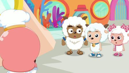 喜羊羊:灰太狼抓住懒羊羊,却是为了换海带面,真是不可思议!