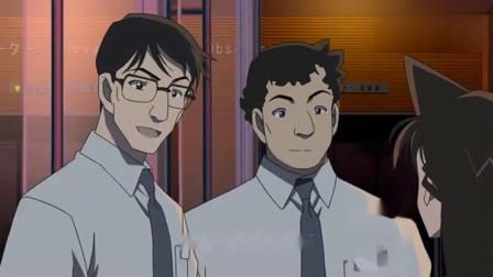 名侦探:小兰确认柯南在京都铁塔里面,十分担心进去寻找柯南.mp4