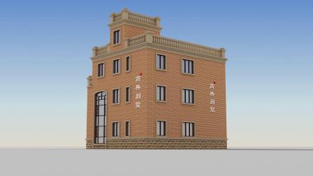 现代极简风三层别墅设计图片大全