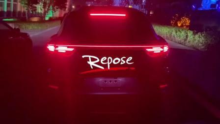 20保时捷卡宴Coupe 3.0T repose中尾段智能阀门排气 路跑视频