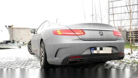 奔驰S400原厂加装主动声浪系统效果丨Maxhaust