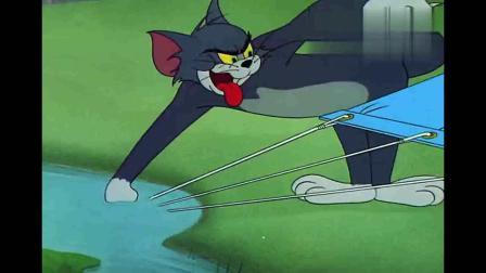 猫和老鼠:杰瑞午睡打呼噜,声音真大,吵的汤姆不能休息!