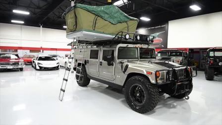 商务车房车定制!悍马改装露营车,车厢设计更是贴心