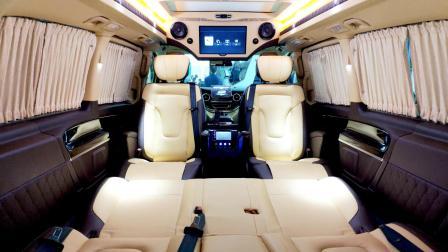 西安哪有改装商务车的?最新v260改装案例,了解一下