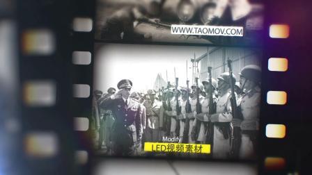 544复古回忆老照片老电影胶片质感胶卷年代感历史记忆图文视频AE模板