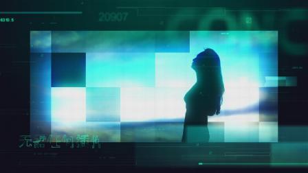 563高科技感未来企业电子元素方块网格屏幕图文视频展示动画AE模板