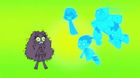 少年泰坦出击:野兽小子只是装模做样,可是大家为了救他都掉了