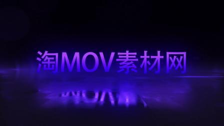 600霓虹灯光文字标题特效动画光效宣传片头企业宣传片展示AE模板