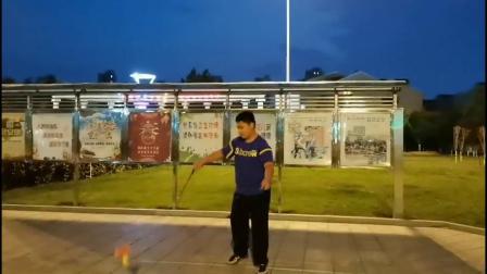 天津空竹 庆祝端午节 津南小将闫俊平表演 抖空竹