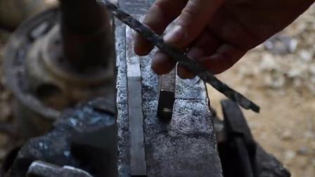 锻造短剑Multi Bar Norse Seax- part 1