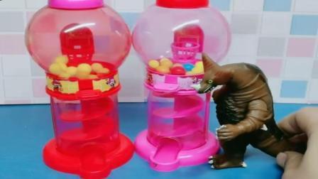 小猪佩奇玩具:乔治任务看糖果,调皮的乔治还是去玩了