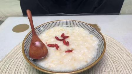 超级软糯的大米燕麦粥,老杜胃疼的时候最爱喝,来一碗暖心又暖胃。