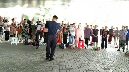我们的中国梦 指挥 刘长鸣 太原唱响合唱团2020-06-26薛长禄制作编辑上传