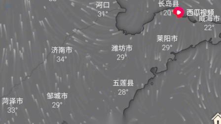 卫星云图:6月27号山东还有暴雨!尤其是南部地区要注意