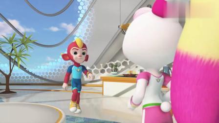 宇宙护卫队:彩虹认为草莓蛋糕被闪电偷吃了,其实是风暴吃掉的