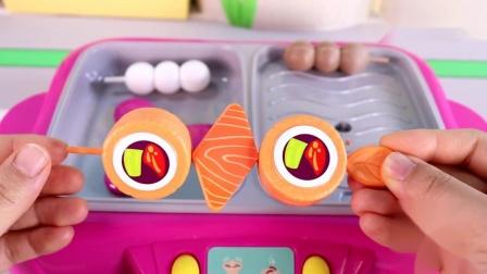 旋转火锅烧烤炉玩具 好吃得根本停不下来