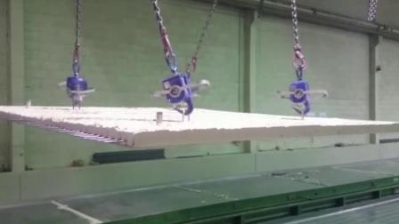 自动吊钩自动卸载4吨混凝土预制件 | 智能吊装解决方案 | elebia