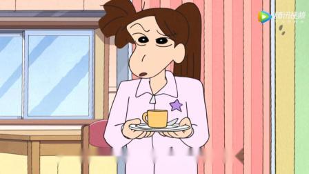 《蜡笔小新》妈妈因想吃蛋糕卷和去聚会不能同时兼得而产生苦恼!