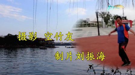 天津空竹 李仲歧老师展示平盘技艺.