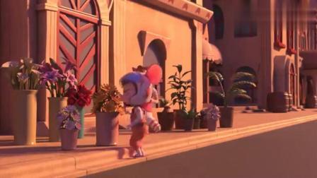舒克和贝塔:舒克贝塔闻着花香找到了嫌疑的藏身处,老鼠的鼻子就是灵