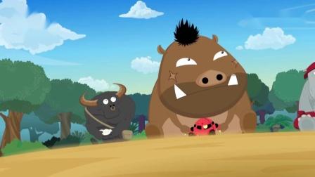 喜羊羊与灰太狼:听过喜羊羊与灰太狼主题曲狼版——别看我只是一只狼
